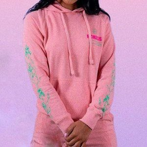 NEW YOUNG&RECKLESS WOMENS AURA HOODIE